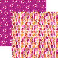 Reminisce - Hello Summer Collection - 12 x 12 Double Sided Paper - Flippity Floppity