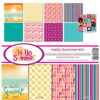 Reminisce - Hello Summer Collection - 12 x 12 Collection Kit