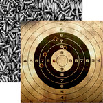Reminisce - Hunters Paradise Collection - 12 x 12 Double Sided Paper - On Target