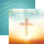 Reminisce - In Loving Memory Collection - 12 x 12 Double Sided Paper - Heaven