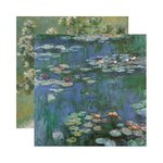 Reminisce - Impressions Collection - 12 x 12 Double Sided Paper - Impressions One