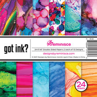 Reminisce - Got Ink Collection - 6 x 6 Paper Pad