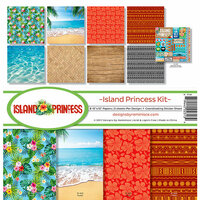 Reminisce - Island Princess Collection - 12 x 12 Collection Kit