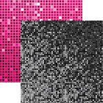 Reminisce - Its Party Time Collection - 12 x 12 Double Sided Paper - Ombre Shimmer