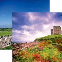 Reminisce - Ireland Collection - 12 x 12 Double Sided Paper - Dingle Peninsula