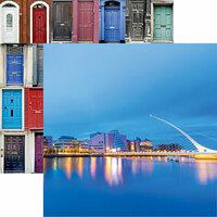 Reminisce - Ireland Collection - 12 x 12 Double Sided Paper - Samuel Beckett Bridge