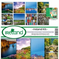 Reminisce - Ireland Collection - 12 x 12 Collection Kit