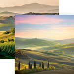 Reminisce - Italy Collection - 12 x 12 Double Sided Paper - Tuscany
