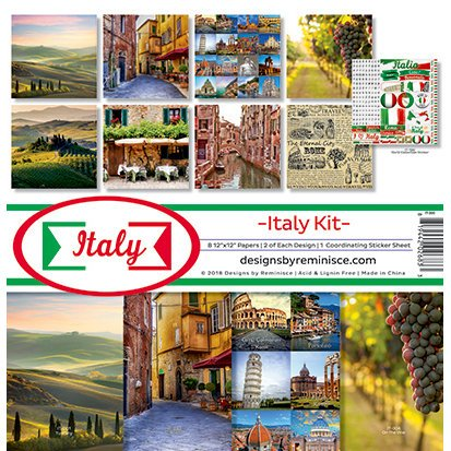 Reminisce - Italy Collection - 12 x 12 Collection Kit