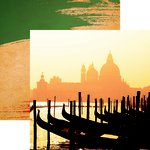 Reminisce - Italia Collection - 12 x 12 Double Sided Paper - Viva Italia