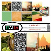 Reminisce - Italia Collection - 12 x 12 Collection Kit