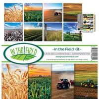 Ella and Viv Paper Company - In The Field Collection - 12 x 12 Collection Kit