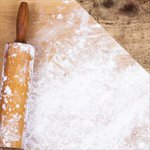 Reminisce - In the Kitchen Collection - 12 x 12 Double Sided Paper - Rolling Pin