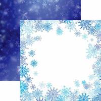 Reminisce - Jack Frost Collection - 12 x 12 Double Sided Paper - Frosted