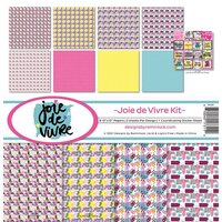 Reminisce - Joie de Vivre Collection - 12 x 12 Collection Kit