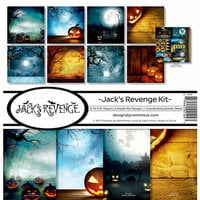 Reminisce - Jack's Revenge Collection - Halloween - 12 x 12 Collection Kit