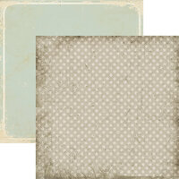 Ella and Viv Paper Company - Junkstock Collection - 12 x 12 Double Sided Paper - Vintage Goods