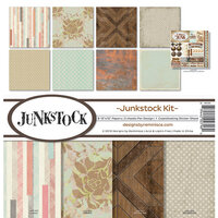Ella and Viv Paper Company - Junkstock Collection - 12 x 12 Collection Kit