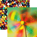 Reminisce - Kids At Play Collection - 12 x 12 Double Sided Paper - Color Magic