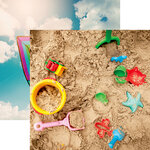 Reminisce - Kids At Play Collection - 12 x 12 Double Sided Paper - Outdoor Fun