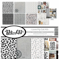 Reminisce - Love My Cat Collection - 12 x 12 Collection Kit