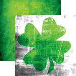Reminisce - Lucky Charm Collection - 12 x 12 Double Sided Paper - Lucky Irish