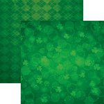 Reminisce - Lucky Charm Collection - 12 x 12 Double Sided Paper - Lucky Irish Too