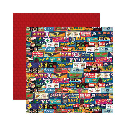 Reminisce - Labels Classique Collection - 12 x 12 Double Sided Paper - Talk O' The Town