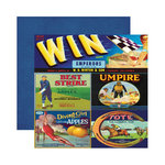 Reminisce - Labels Classique Collection - 12 x 12 Double Sided Paper - Win Brand