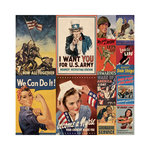 Reminisce - Let Freedom Ring Collection - 12 x 12 Cardstock Stickers - Poster