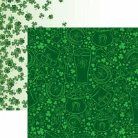 Reminisce - Luck of the Irish Collection - 12 x 12 Double Sided Paper - Luck of the Irish