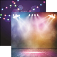 Reminisce - Light It Up Collection - 12 x 12 Double Sided Paper - Light It Up