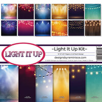 Reminisce - Light It Up Collection - 12 x 12 Paper Pack