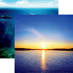 Reminisce - Lake Life Collection - 12 x 12 Double Sided Paper - Lake Love