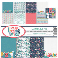 Reminisce - Llama Love Collection - 12 x 12 Collection Kit