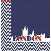 Reminisce - London Collection - 12 x 12 Double Sided Paper - London