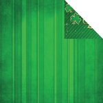 Reminisce - Lucky Magic Collection - 12 x 12 Double Sided Paper - Lucky Stripe