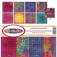 Reminisce - Love Is Love Collection - 12 x 12 Collection Kit