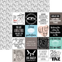Reminisce - Love Your Face Collection - 12 x 12 Double Sided Paper - Another Pretty Face