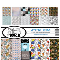 Reminisce - Love Your Face Collection - 12 x 12 Collection Kit