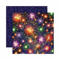 Reminisce - Magical Collection - 12 x 12 Double Sided Paper - Magical Night