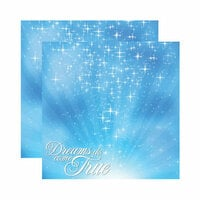 Reminisce - Magical Collection - 12 x 12 Double Sided Paper - Magical Wish