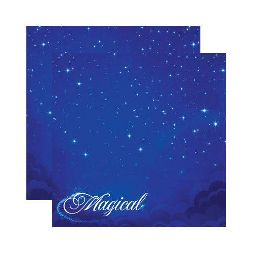 Reminisce - Magical Collection - 12 x 12 Double Sided Paper - Magical