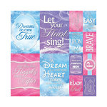 Reminisce - Magical Collection - 12 x 12 Cardstock Stickers - Poster