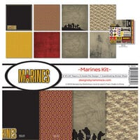 Reminisce - Marines Collection - 12 x 12 Collection Kit