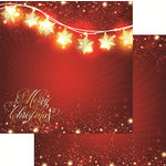 Reminisce - Magical Christmas Collection - 12 x 12 Double Sided Paper - Magical Christmas