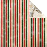 Reminisce - Magical Christmas Collection - 12 x 12 Double Sided Paper - Magical Stripe