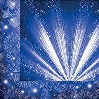 Reminisce - Magical Fourth Collection - 12 x 12 Double Sided Paper - Magical Fireworks