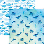 Reminisce - Mermaid's Tale Collection - 12 x 12 Double Sided Paper - Under the Sea