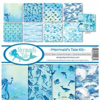 Reminisce - Mermaid's Tale Collection - 12 x 12 Collection Kit